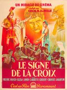 The Sign of the Cross - French Movie Poster (xs thumbnail)