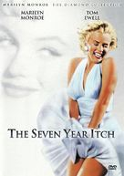 The Seven Year Itch - DVD cover (xs thumbnail)