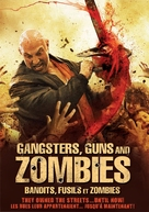 Gangsters, Guns & Zombies - Canadian DVD movie cover (xs thumbnail)