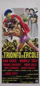 Il trionfo di Ercole - Italian Movie Poster (xs thumbnail)