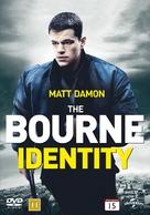 The Bourne Identity - Danish DVD cover (xs thumbnail)