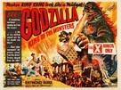 Godzilla, King of the Monsters! - British Movie Poster (xs thumbnail)