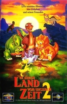 The Land Before Time 2 - German Movie Cover (xs thumbnail)