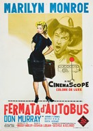 Bus Stop - Italian Movie Poster (xs thumbnail)