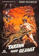 Tarzan and the Huntress - German Movie Poster (xs thumbnail)