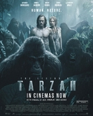 The Legend of Tarzan - British Movie Poster (xs thumbnail)