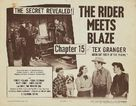 Tex Granger, Midnight Rider of the Plains - Movie Poster (xs thumbnail)