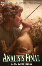 Final Analysis - Spanish VHS movie cover (xs thumbnail)
