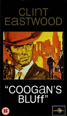 Coogan's Bluff - British VHS movie cover (xs thumbnail)
