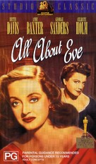 All About Eve - Australian VHS cover (xs thumbnail)