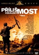 A Bridge Too Far - Czech DVD movie cover (xs thumbnail)