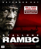 Rambo - Norwegian Blu-Ray cover (xs thumbnail)