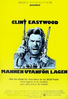 The Outlaw Josey Wales - Swedish Movie Poster (xs thumbnail)
