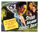 The Spider Woman Strikes Back - Movie Poster (xs thumbnail)