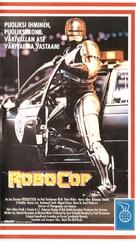 RoboCop - Finnish VHS movie cover (xs thumbnail)