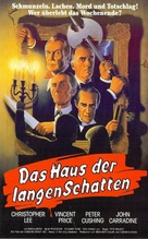 House of the Long Shadows - German VHS movie cover (xs thumbnail)