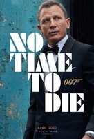 No Time to Die - Teaser movie poster (xs thumbnail)
