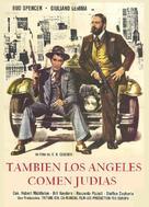 Anche Gli Angeli Mangiano Fagioli - Spanish Movie Poster (xs thumbnail)