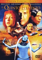 The Fifth Element - Spanish DVD movie cover (xs thumbnail)