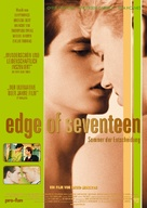 Edge of Seventeen - German Movie Poster (xs thumbnail)