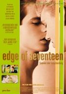 Edge of Seventeen - German Movie Poster (xs thumbnail)