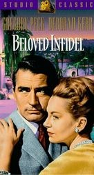 Beloved Infidel - VHS movie cover (xs thumbnail)