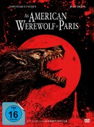 An American Werewolf in Paris - German Movie Cover (xs thumbnail)