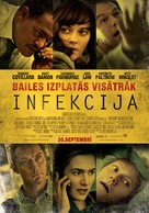 Contagion - Latvian Movie Poster (xs thumbnail)