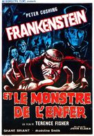 Frankenstein and the Monster from Hell - Belgian Movie Poster (xs thumbnail)