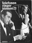 Dial M for Murder - Danish DVD movie cover (xs thumbnail)
