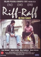 Riff-Raff - Spanish DVD cover (xs thumbnail)