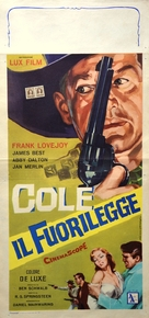 Cole Younger, Gunfighter - Italian Movie Poster (xs thumbnail)