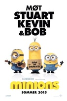 Minions - Norwegian Movie Poster (xs thumbnail)