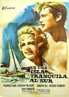 A Summer Place - Spanish Movie Poster (xs thumbnail)
