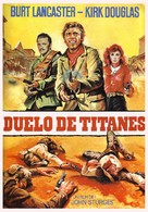 Gunfight at the O.K. Corral - Spanish Movie Poster (xs thumbnail)