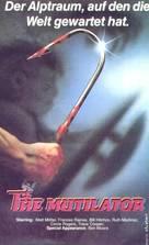 The Mutilator - German VHS cover (xs thumbnail)