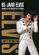 Elvis: That's the Way It Is - Dutch Re-release movie poster (xs thumbnail)