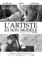 El artista y la modelo - French Movie Poster (xs thumbnail)