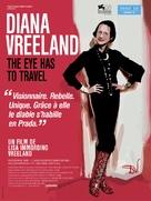 Diana Vreeland: The Eye Has to Travel - French Movie Poster (xs thumbnail)