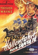Stagecoach - German Movie Poster (xs thumbnail)