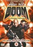 Doom - British DVD movie cover (xs thumbnail)