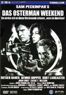 The Osterman Weekend - German DVD cover (xs thumbnail)