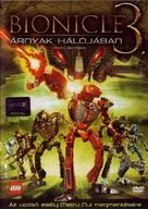 Bionicle 3: Web of Shadows - Hungarian Movie Cover (xs thumbnail)