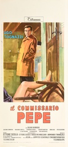 Il commissario Pepe - Italian Movie Poster (xs thumbnail)
