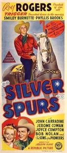 Silver Spurs - Australian Movie Poster (xs thumbnail)