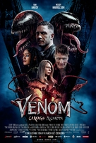 Venom: Let There Be Carnage - Slovak Movie Poster (xs thumbnail)