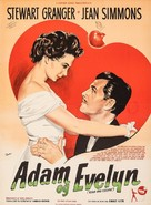 Adam and Evelyne - Danish Movie Poster (xs thumbnail)