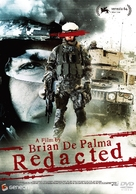 Redacted - Japanese Movie Cover (xs thumbnail)