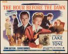 The Hour Before the Dawn - Movie Poster (xs thumbnail)