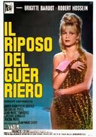 Le repos du guerrier - Italian Movie Poster (xs thumbnail)